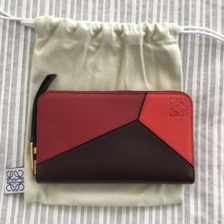 Loewe Medium Puzzle Zip Around Wallet