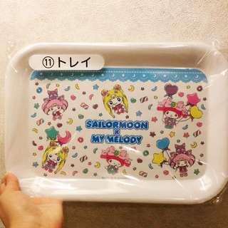 Japan Tokyo Sanrio Sailor Moon x My Melody Tray 托盤 一番抽