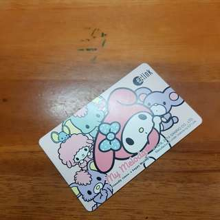 My melody ezlink card