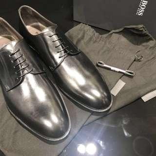 Hugo Boss 男裝皮鞋 (全新)