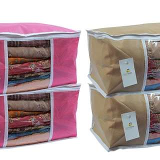 Homestrap Non Woven Saree Cover with window