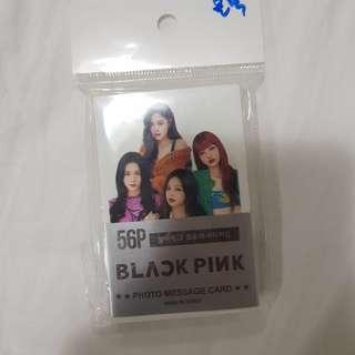 Blackpink Photo message card
