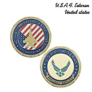 Ex US Air Force coin commemorative