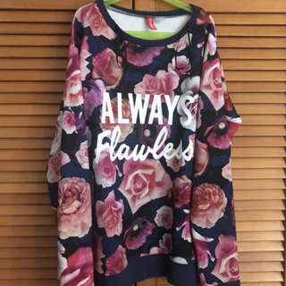 Pullover floral