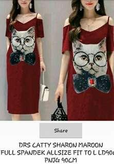 Dress caty sharon