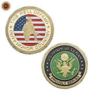 Ex US army commemorative coin