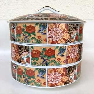 Oriental Tier Bowls