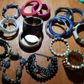 Assorted Arm Candy (Any 3 for Php 100)