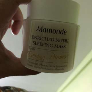 Mamonde Enrich Nutri Sleeping Mask
