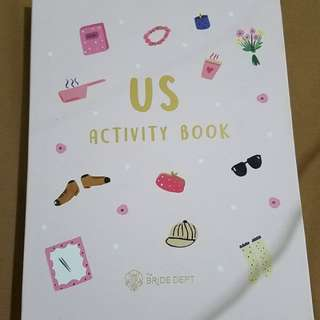 The Bride Dept - Us Activity Book