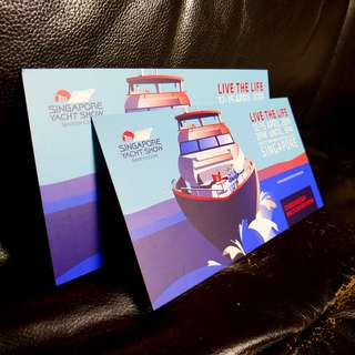 Two Tickets for Singapore Yacht Show 2018