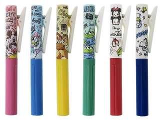 Crux Japan disney tsum tsum / snoopy / minnie & mickey / chip n dale / donald n daisy cuttina+ scissor