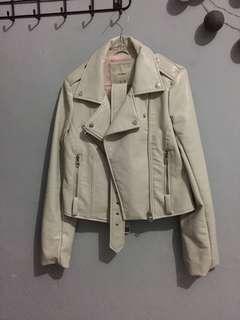 Jacket Kulit Pull & Bear