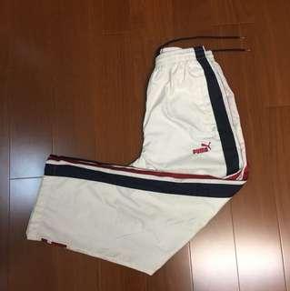 (Size M) Puma 復古防風運動褲