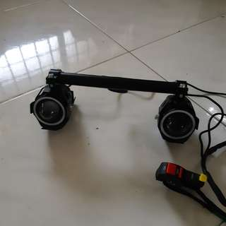 Angel eye escooter