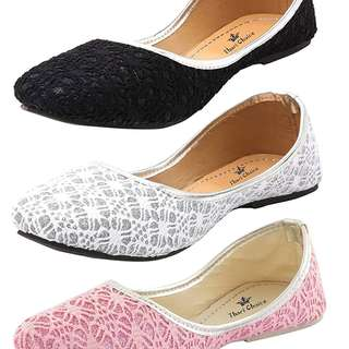 Thari Choice Woman and Girls Flat Belly shoes