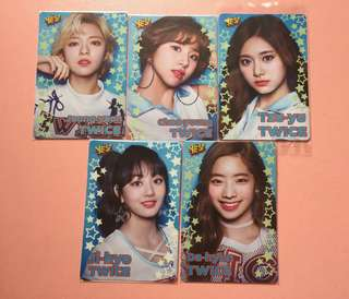 twice yes card 膠卡5款