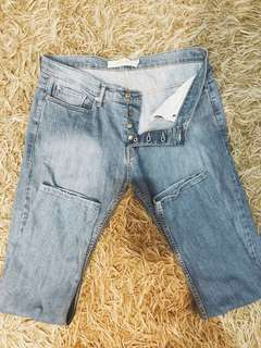 Topman light washed skinny jeans