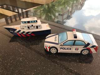 Singapore Police Force - Paper Craft