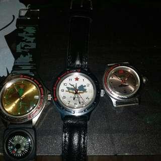 蘇聯錶3隻
