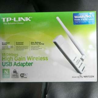 TP-Link 150Mps High Gain Wireless USB Adapter