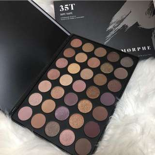 [PO AUTHENTIC 💯] MORPHE 35T Color Taupe Palette