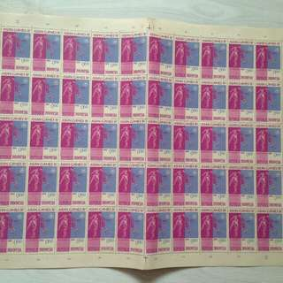 Dijual perangko ASIAN GAMES tahun 1962