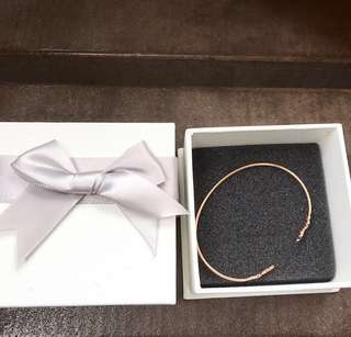 (Sale) rose gold bangle with box