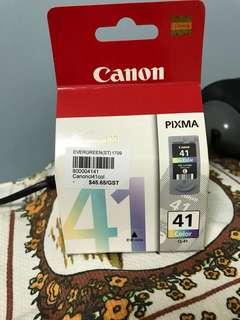 Canon printer coloured ink cartridge