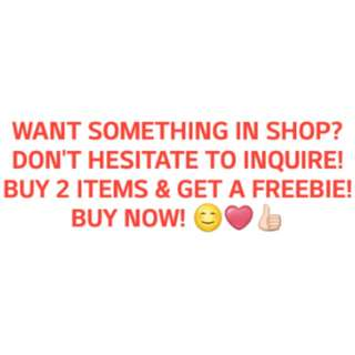 SHOP NOW CAROUSELLERS!!!