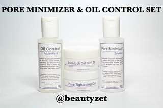 Pore Minimizer & Oil Control Set