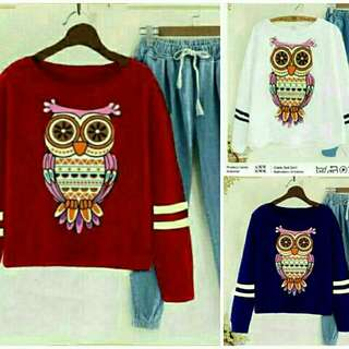 GTBB Ms St Owl Denim  Bahan Spandek celana Denim Fit L