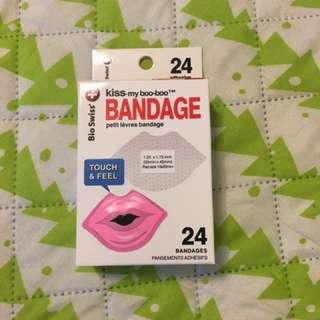 全新 Bandage 嘴唇形狀 ok繃