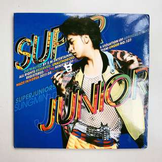 WTS SUPER JUNIOR Mr. Simple Album (Sungmin Cover)