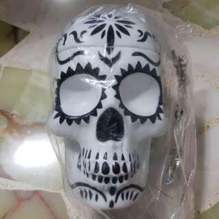 Plastic Skull Container