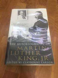 Autobiography- Martin Luther King