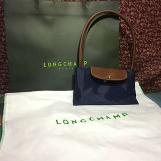 Longchamp long brown handle on sale 💜🌼🔥