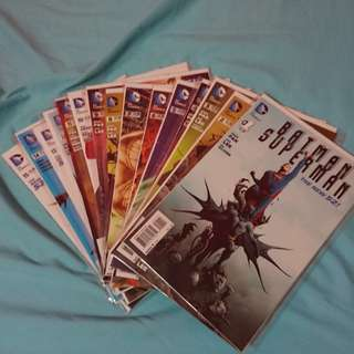 Batman/Superman (New 52) #1 - #15, #3.1, Annual #1 & Future's End #1