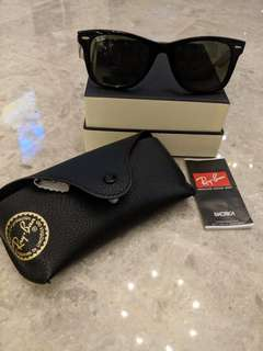 Authentic preowned Rayban shades