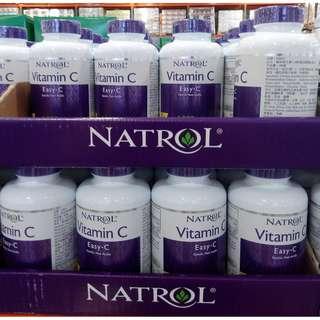 costco NATROL-納妥維他命C 1000毫克緩釋錠 200顆 #224443