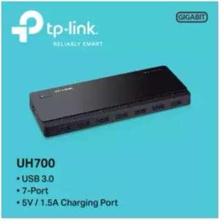 TP-LINK - UH700 USB 3.0 7-Port Hub