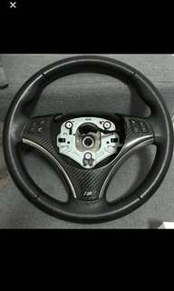 BMW carbon fiber steering wheel