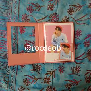 Wanna One 1x1=1 (To Be One) Pink Minhyun All Set +Poster