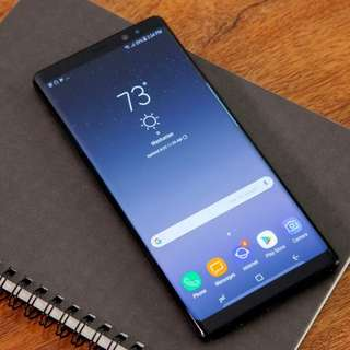 Note 8 64g black 99%new