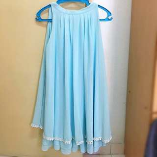Tifanny blue dress👗