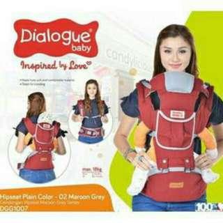 Dialogue baby hipseat plain colour 002 DGG1007