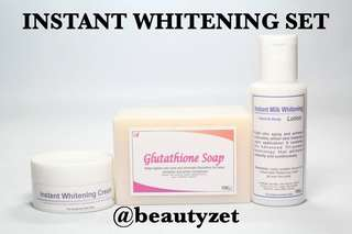 Instant Whitening Set