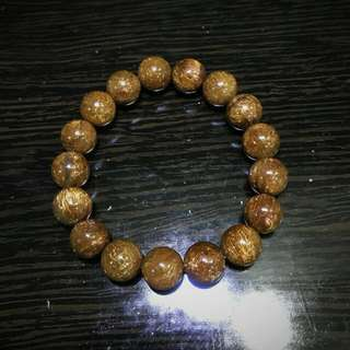 Copper Rutilated bracelet 铜发晶 12mm