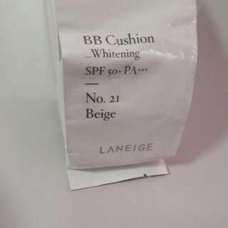 (INSTOCKS) LANEIGE BB CUSHION WHITENING REFILL