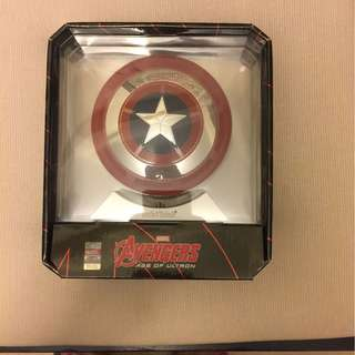 New marvel captain America speakers and powerbank